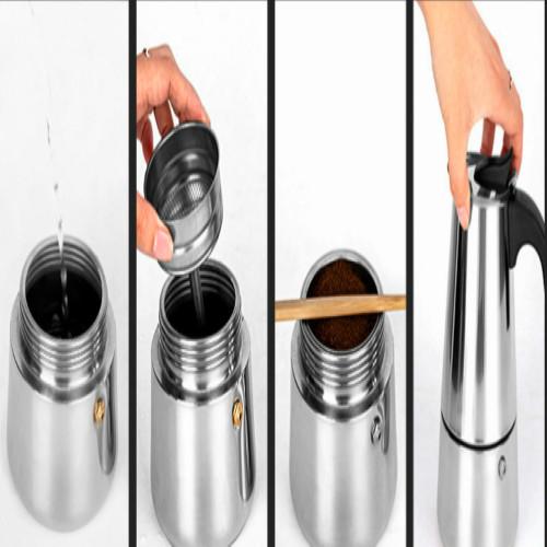 Bình pha caffe Moka Pot kiểu Ý / Ấm pha cafe Moka Pot kiểu Ý Nhà Vin
