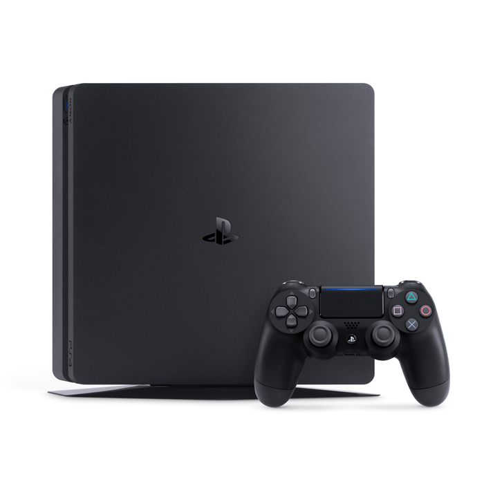 Bộ playstation 4 slim (500gb)  kèm 2 đĩa  game spider-man + godofwar 4 - chính hãng