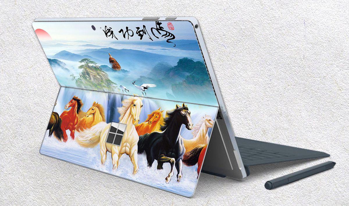 Skin dán hình Mã Đáo Thành Công cho Surface Go, Pro 2, Pro 3, Pro 4, Pro 5, Pro 6, Pro 7, Pro X