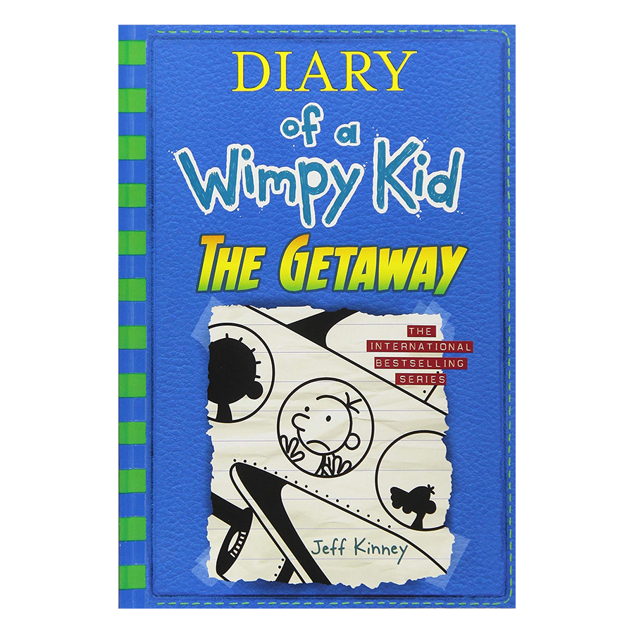 Diary of a Wimpy Kid 12: The Getaway (Paperback) (International Edition)
