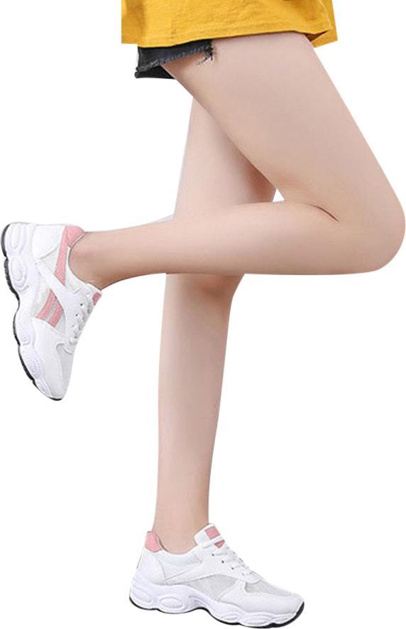 Giày Thể Thao Nữ Thời Trang Hàn Quốc - Hồng Size 36