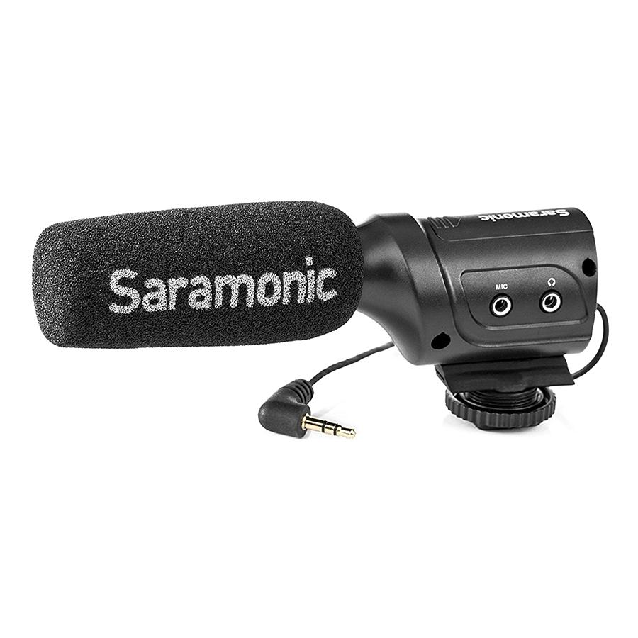 Micro Thu Âm Saramonic SR-M3 - Hàng Chính Hãng