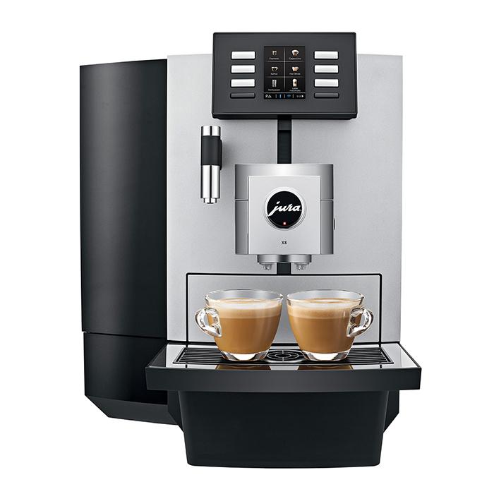 Máy pha cà phê JURA X8 Platin - Hàng Chính Hãng