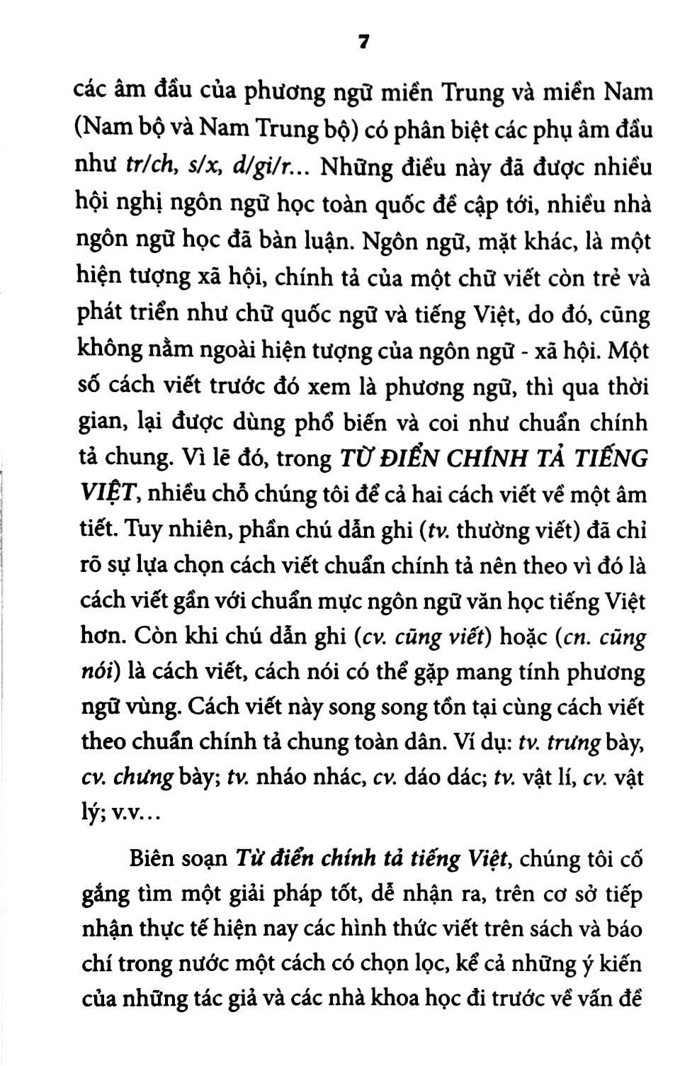 Từ Điển Chính Tả Tiếng Việt - In Lần Thứ 8 (Bìa Cứng)