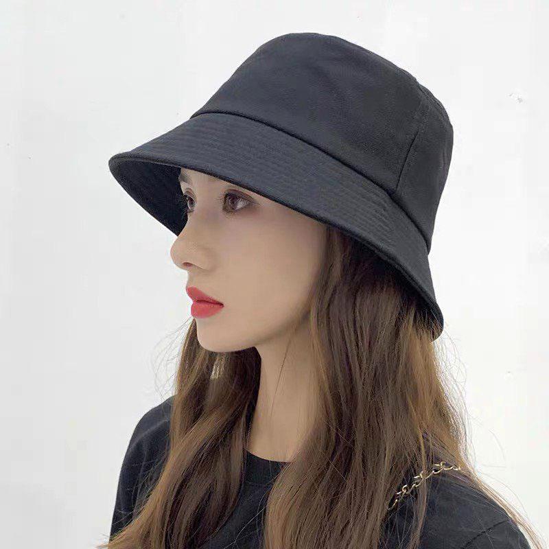 Mũ bucket nữ, nón bucket nam, mũ maruko vành tròn cực xinh xắn MD10