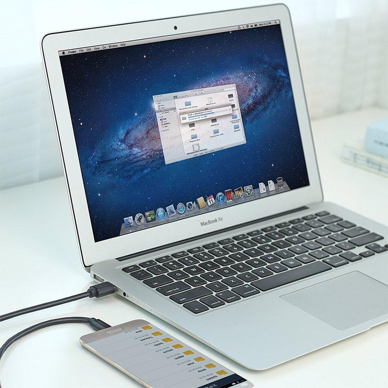 Cáp sạc Smartphone, TAB 2A USB-C ra USB 3.0 0.5 mét Ugreen 20881 hàng chính hàng