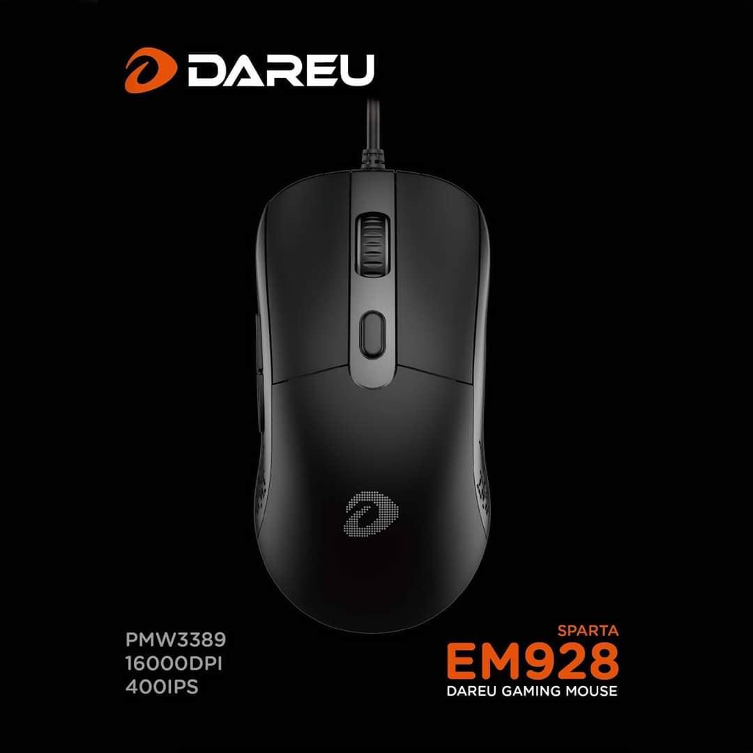 Chuột Gaming Dareu EM928 Led RGB - Hàng Chính Hãng