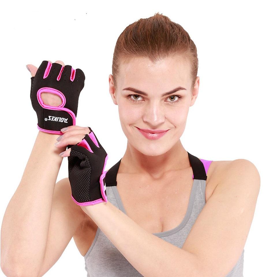 Găng tay tập gym hở ngón Aolikes AL1678 (1 đôi)