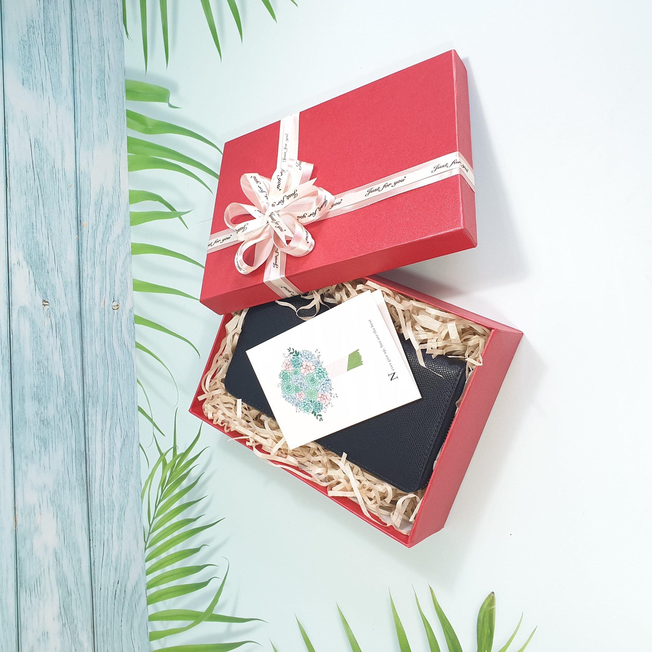 [Tặng thiệp + Giấy rơm] Hộp quà sinh nhật, hộp quà valentine tặng người yêu 23x17x7cm - HQ24