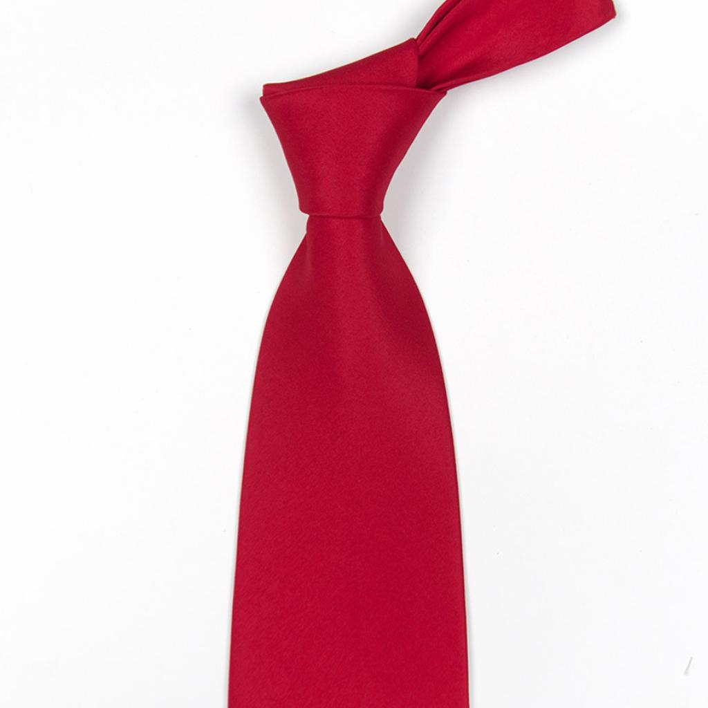 Cà vạt nam nữ cao cấp phi bóng bản nhỏ 5cm dành cho chú rể, công sở, học sinh, chụp kỷ yếu