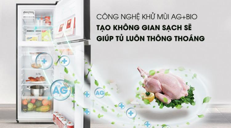 Lọc sạch không khí với công nghệ Ag Bio - Tủ lạnh Toshiba Inverter 233 lít GR-A28VM(UKG)