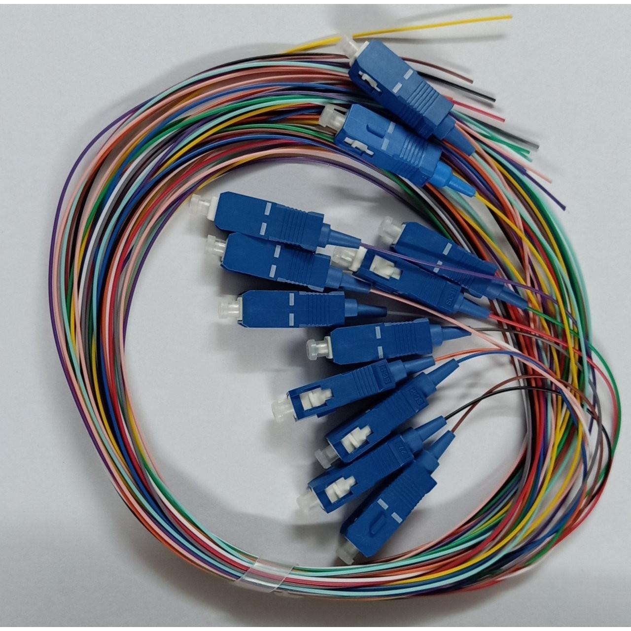 12 sợi - Dây hàn quang SC-UPC 0.9mm 1.5m - PIGTAIL