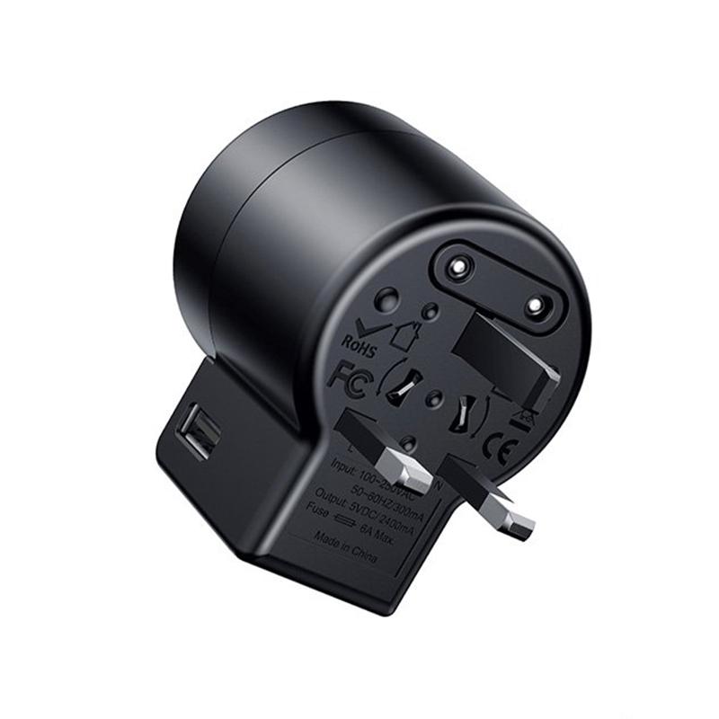 Adapter Sạc Du Lịch Đa Năng 6A Baseus - Hàng chính hãng