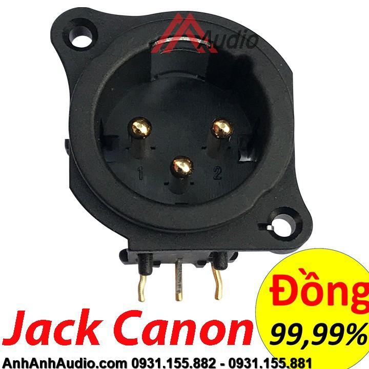 Jack Canon đực loại chân cong - Chân đồng Nguyên Chất