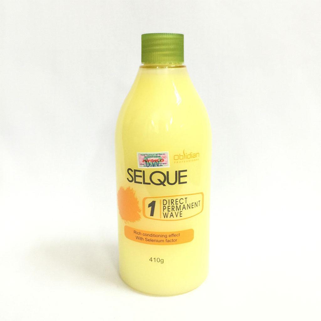 Thuốc uốn tóc đa năng Obsidian Selque Direct Permanent Hàn Quốc 410g/530g tặng kèm móc khoá
