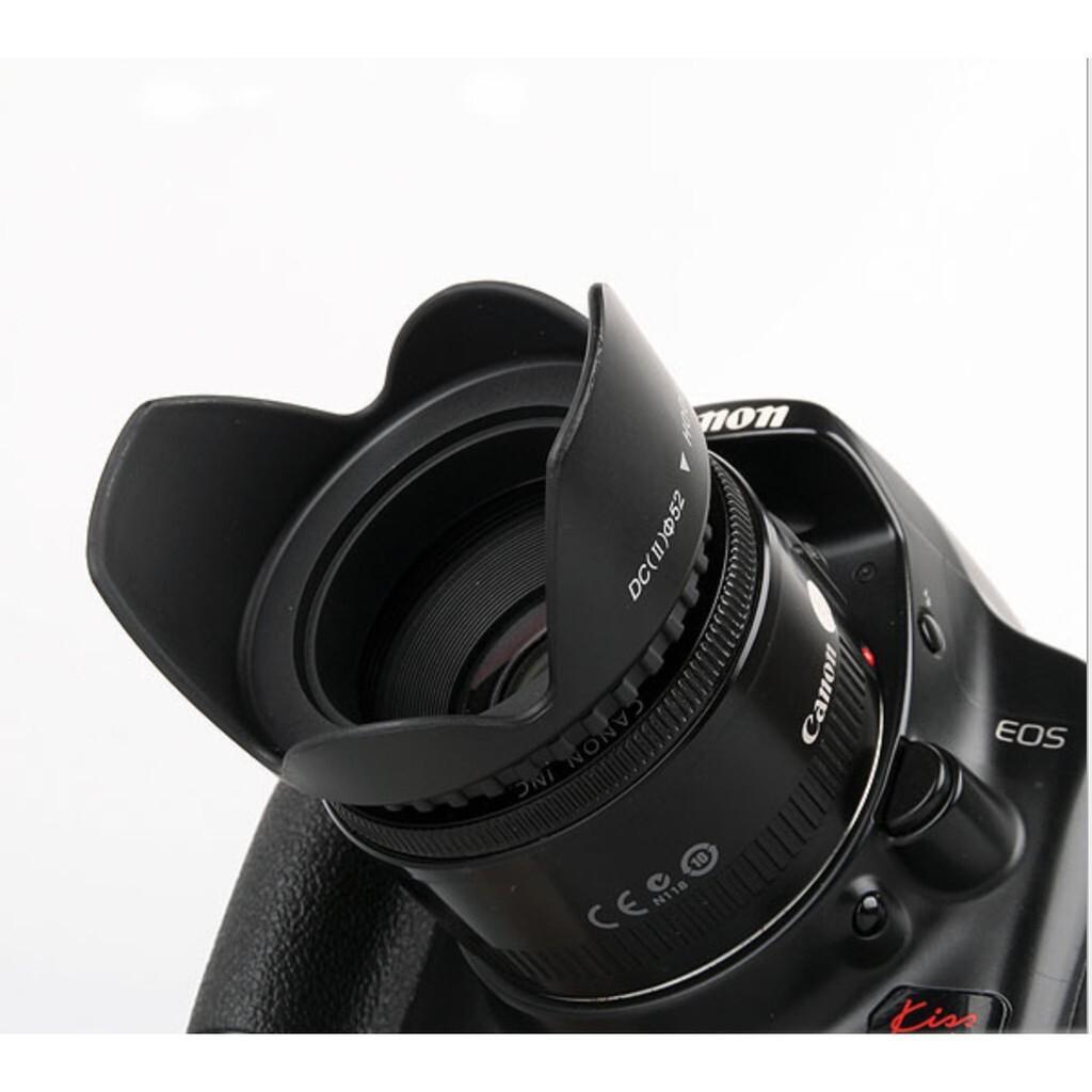 Lens hood Loa che nắng hoa sen vặn ren ống kính máy ảnh Phi 77mm