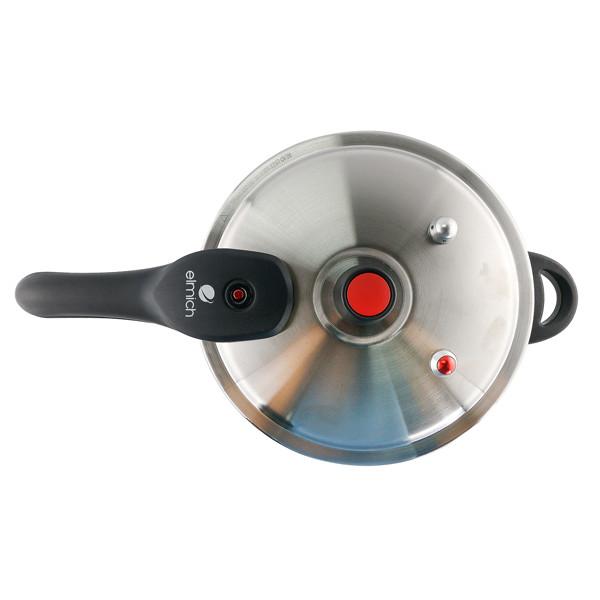 Nồi áp suất Inox 304 Elmich 20cm 4.0L EL3369 tặng kèm giá hấp Inox