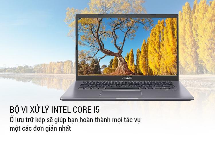 Laptop Asus Vivobook X409FA-EK100T Core i5-8265U/ Win10 (14 FHD) - Hàng Chính Hãng