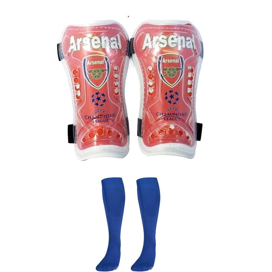 Combo Bó ống đồng đá bóng trẻ em các câu lạc bộ + Tất đá bóng dài trẻ em - Giao màu ngẫu nhiên (Free size) 1