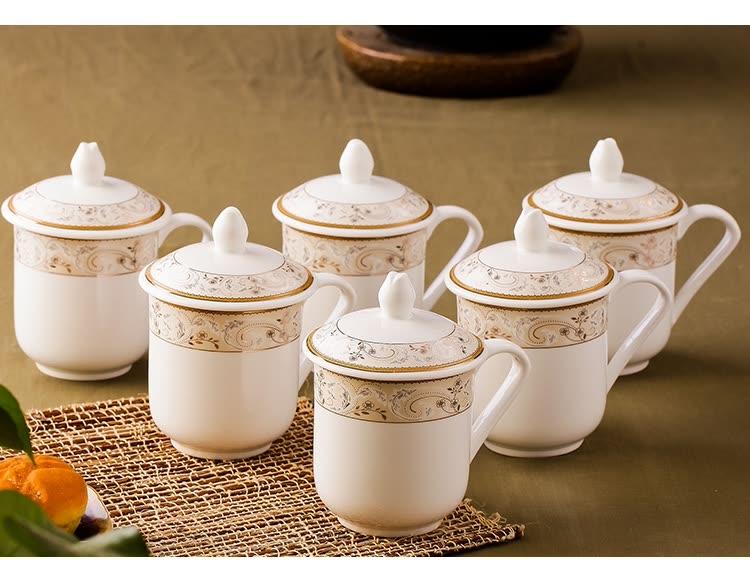 Bộ 6 Tách Trà Men Gốm Life Ceramics