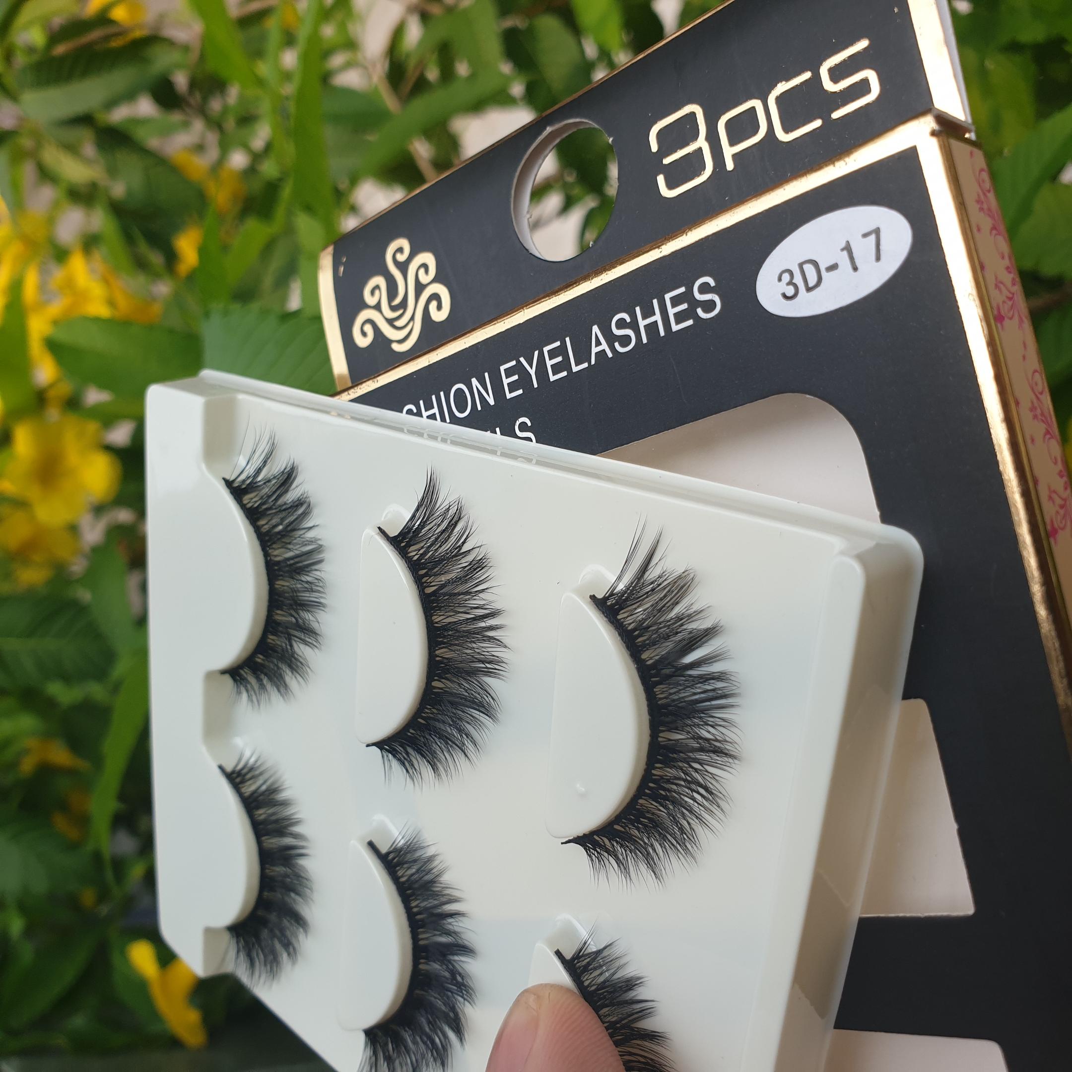 Lông mi giả lông chồn 3 Fashion Eyelashes 3 Faux-Cils 3D 1 bộ 3 cặp 69
