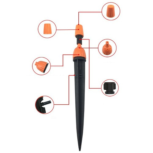 bộ tưới tự động 8tia kết hợp phun sương điều khiển bằng wifi() 3