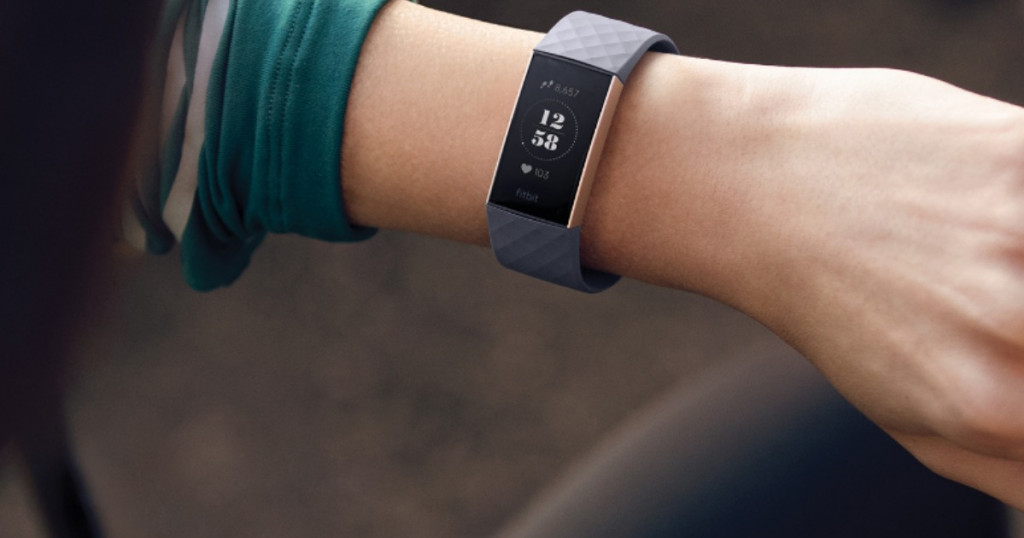 Vòng Đeo Sức Khoẻ Fitbit Charge 3 - Hàng Chính Hãng