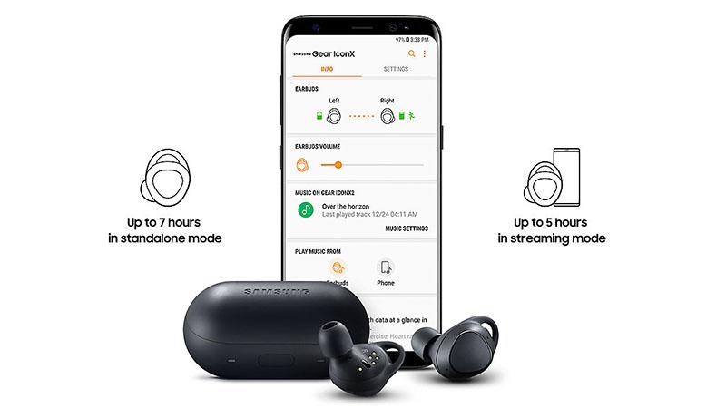 Tai Nghe Bluetooth Thể Thao Samsung Gear IconX 2018 - Hàng Chính Hãng