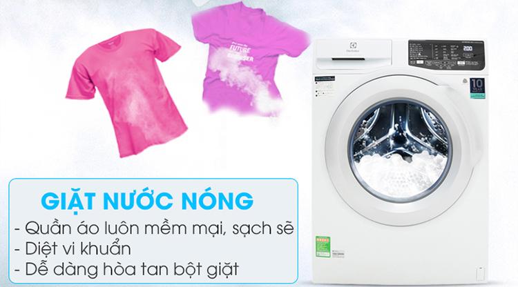 Máy Giặt Cửa Trước Inverter Electrolux EWF8025CQWA (8kg) - Hàng Chính Hãng