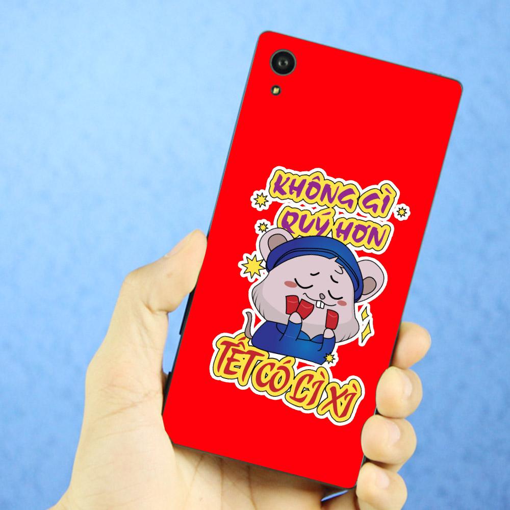 Ốp điện thoại Sony Xperia XA1 - Chuột đòi lì xì 02 MS CDLI02