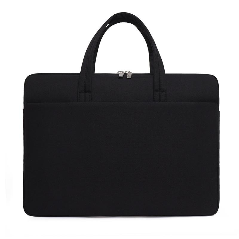 Túi đựng Laptop, túi xách Macbook dành cho công sở, văn phòng, chống nước, đựng vừa laptop 15,6 inch, nhiều ngăn 11