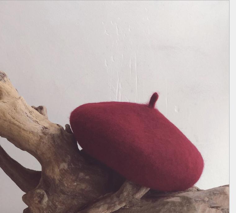 Mũ nồi đôi cho mẹ và bé chất liệu dạ (Mu01) 14