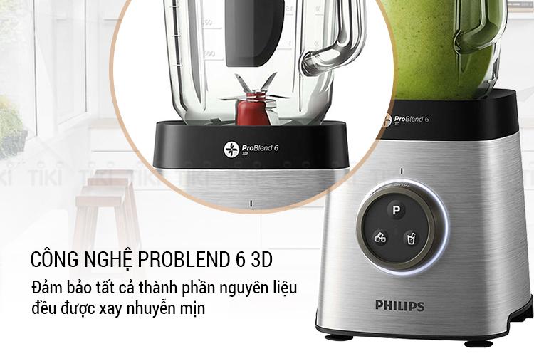 Máy Xay Sinh Tố Philips HR3652 (1400W)