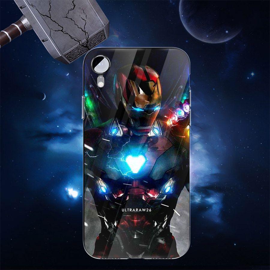 Ốp kính cường lực dành cho điện thoại Oppo F5/R11S/A73 - F7 - Biệt đội siêu anh hùng - bdsah008