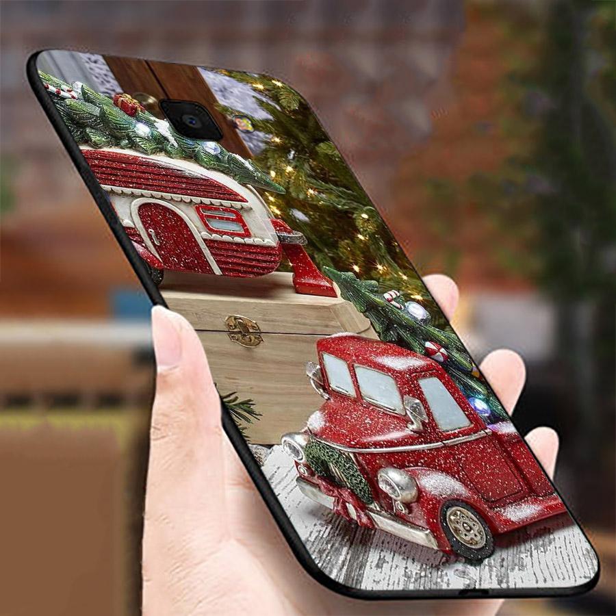 Ốp lưng cứng viền dẻo dành cho điện thoại Samsung Galaxy A3 2016 - giáng sinh đầm ấm MS GSDA021