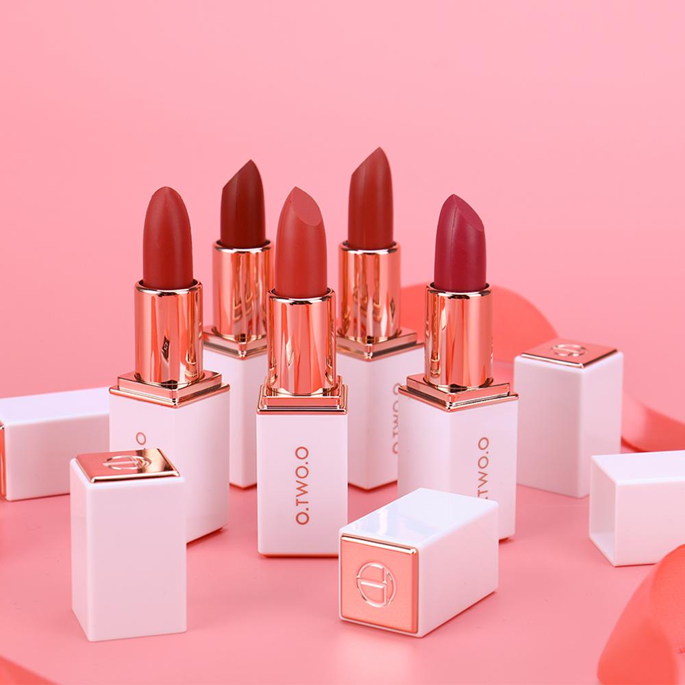 Son Môi O.TWO.O Matte Lipstick Rouge Á Lèvres 5