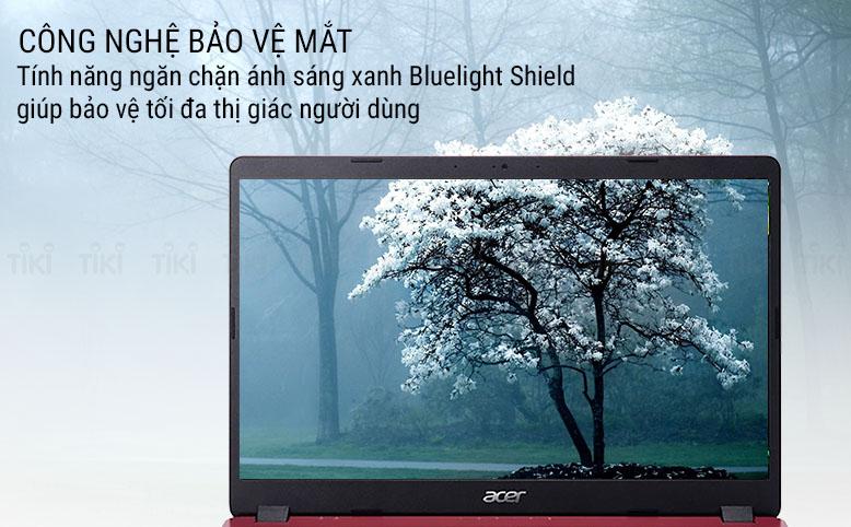Laptop Acer Aspire 3 A315-54K-32SD NX.HFXSV.001 (Core i3-7020U/ 4GB DDR4 2133MHz/ 256GB SSD M.2 PCIE/ 15.6 FHD/ Win10) - Hàng Chính Hãng