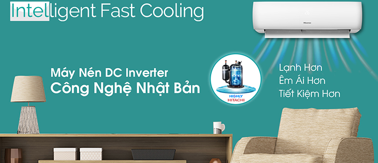 Máy Lạnh Hisense Inverter 2 HP AS-18TW4RGATU00 - Chỉ Giao tại HCM