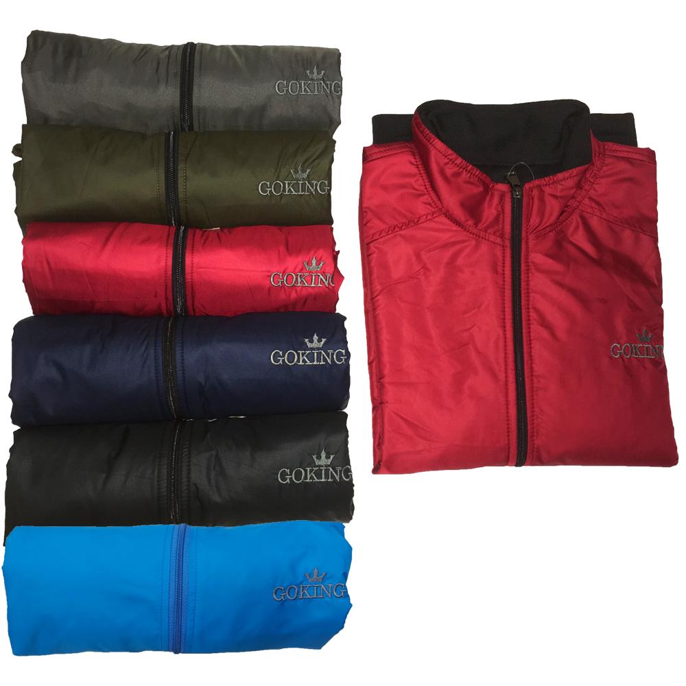 Áo khoác gió nữ cách nhiệt GOKING, ngoài vải dù, trong lót vải cào chống nóng và giữ ấm cơ thể 1