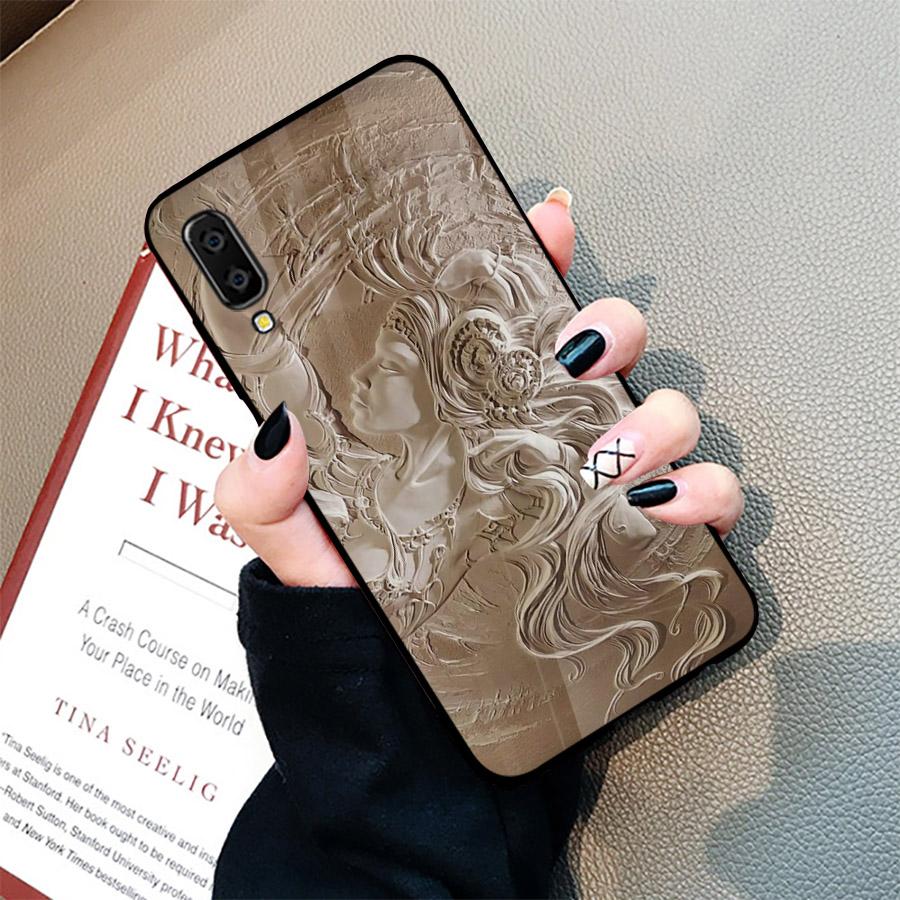Ốp điện thoại dành cho máy Samsung Galaxy A70 - hình Điêu Khắc MS DKHAC008