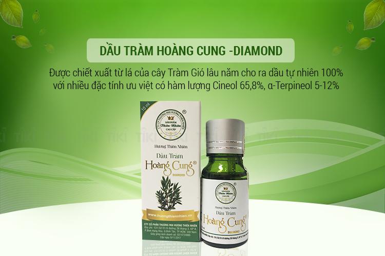 Dầu Tràm Hoàng Cung Diamond - 10ml 1