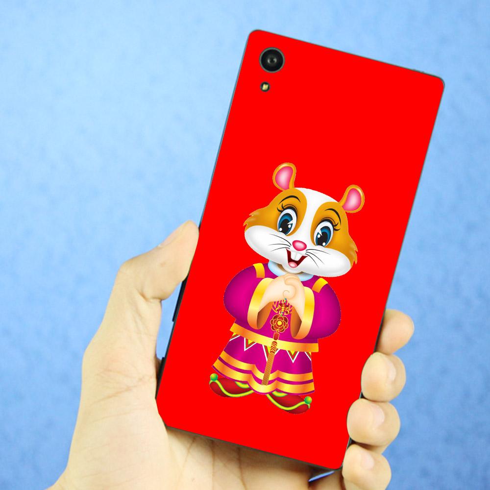 Ốp điện thoại Sony Xperia XA1 - chú chuột chúc tết 03 MS CCT003