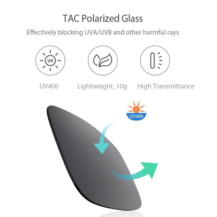 Tròng Kính Mát Phân Cực Gắn Trên Mắt Kính Xiaomi Turok Steinhardt TS SM009