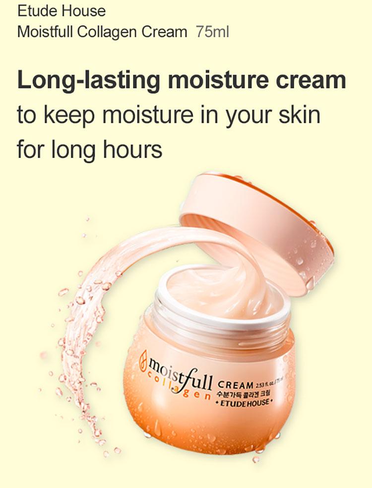 Etude house Moistfull Collagen Cream 75ml)