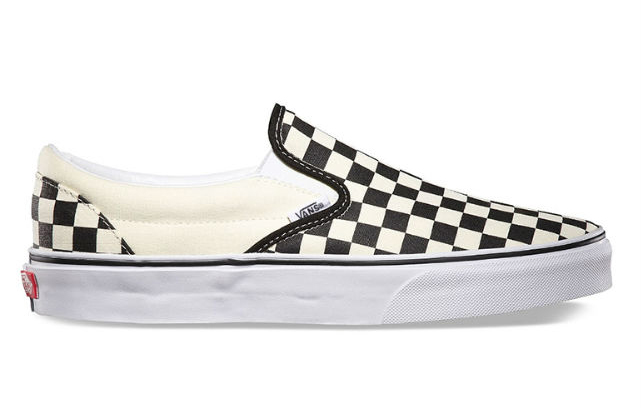 Giày Slip On Unisex Vans VN000EYEBWW - Black/White