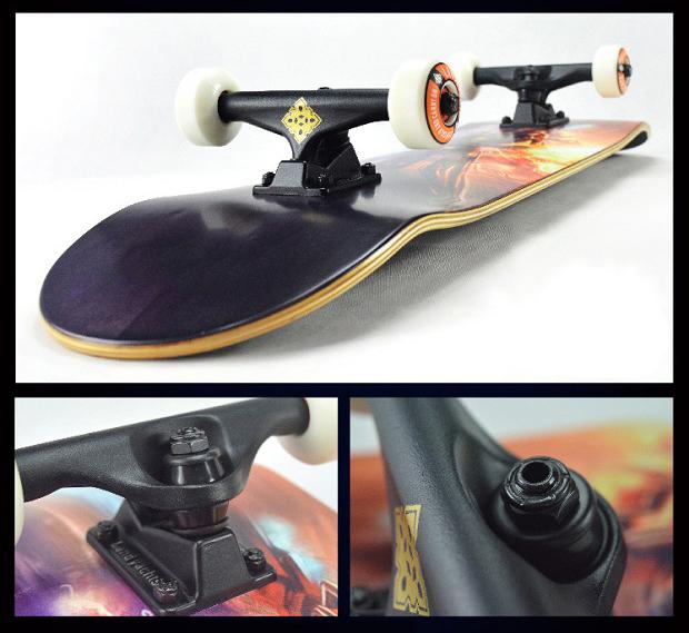 Ván trượt chuyên nghiệp SkateBoard (Phi thuyền mặt đất Landyard) 4