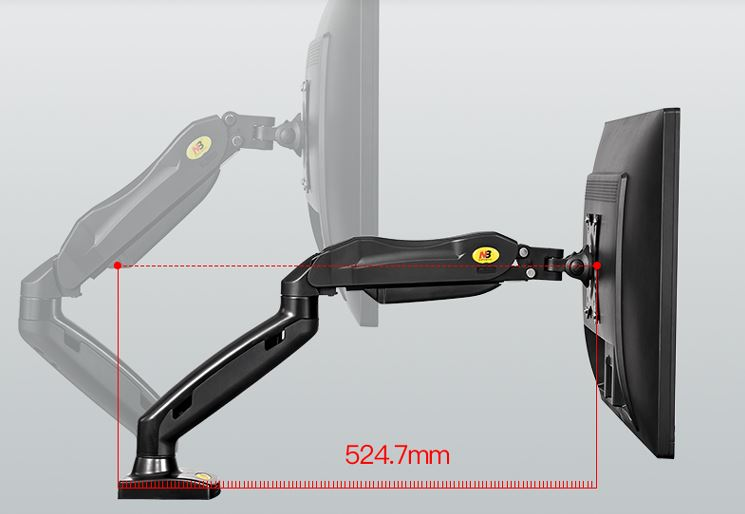 Giá Đỡ Màn Hình Máy Tính NB F80 LCD 17-27 Inches