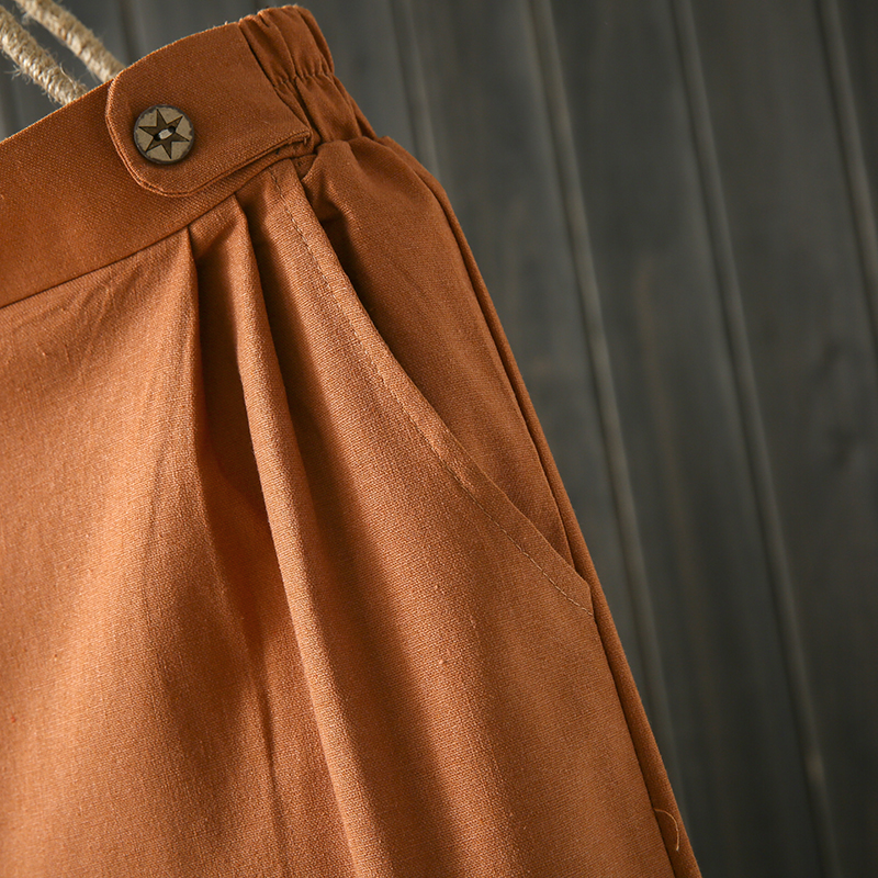 Quần nữ ống rộng chất liệu đũi cao cấp,điểm nhấn 2 bên eo,tạo chân dài thêm 126 2