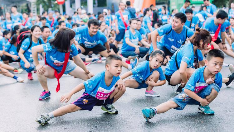 Giải Chạy Bộ Family Ekiden 2019