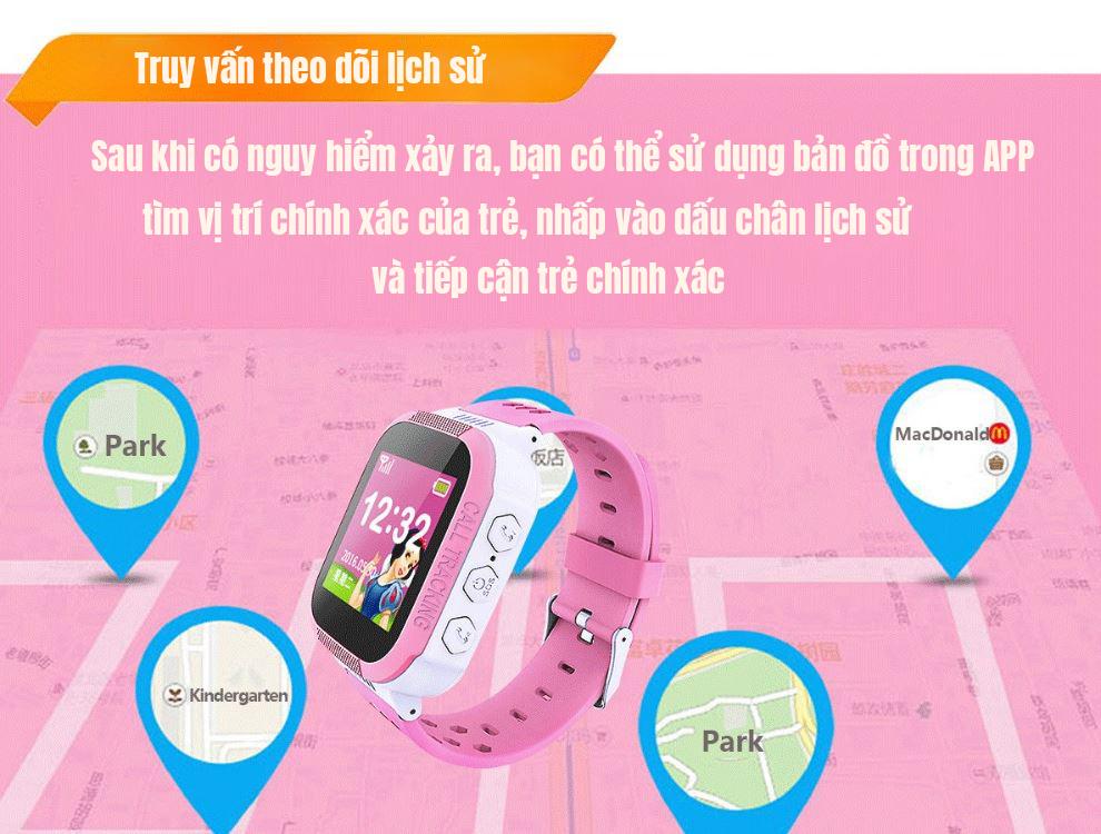 đồng hồ định vị trẻ em mobifone